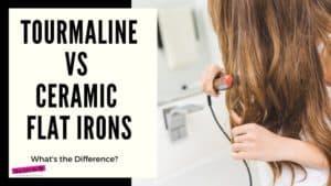 tourmaline or ceramic flat iron